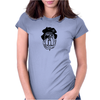 Pirate Pug Womens Fitted T-Shirt