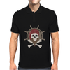 Pirate skull Mens Polo