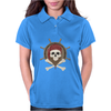 Pirate skull Womens Polo