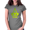Pirates skull Womens Fitted T-Shirt