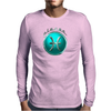 Pisces Zodiac Symbol Mens Long Sleeve T-Shirt
