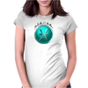 Pisces Zodiac Symbol Womens Fitted T-Shirt
