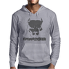 Pitbull American Pit Bull Spiked Dog Collar Mens Hoodie
