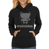 Pitbull American Pit Bull Spiked Dog Collar Womens Hoodie