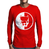 Pitbull Syndicate Logo Dogs Mens Long Sleeve T-Shirt