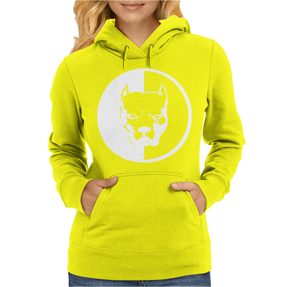 Pitbull Syndicate Logo Dogs Womens Hoodie