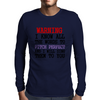 PITCH PERFECT Mens Long Sleeve T-Shirt