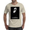 Pixel Portrait of Darwin Mens T-Shirt