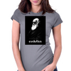 Pixel Portrait of Darwin Womens Fitted T-Shirt