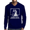 Pixel Wedding Under New Management Mens Hoodie