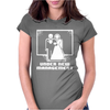 Pixel Wedding Under New Management Womens Fitted T-Shirt