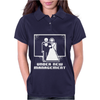 Pixel Wedding Under New Management Womens Polo