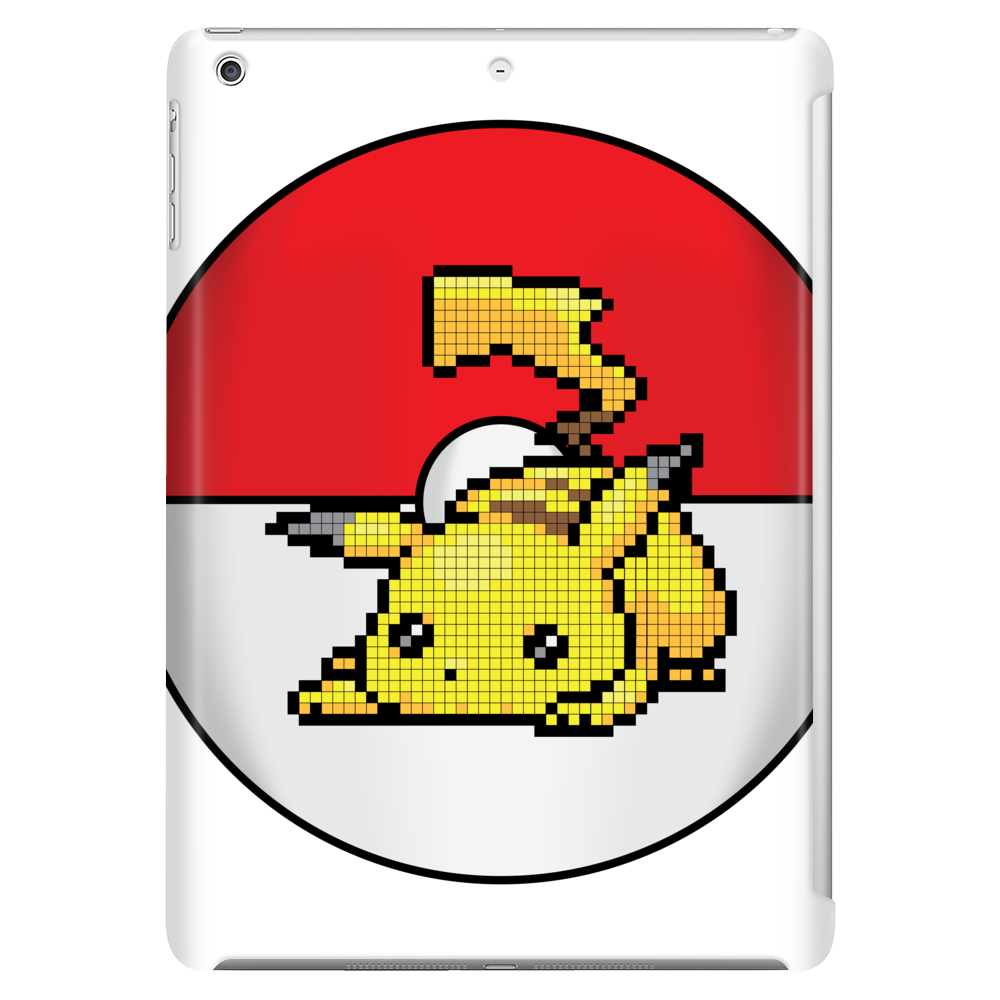 Pixelated Pikachu Tablet