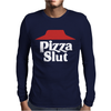 Pizza funny Mens Long Sleeve T-Shirt