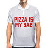 PIZZA IS MY BAE RINGER Mens Polo