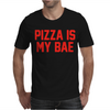 PIZZA IS MY BAE RINGER Mens T-Shirt