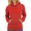 PIZZA IS MY BAE RINGER Womens Hoodie