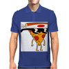 Pizza Man Mens Polo