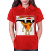 Pizza Man Womens Polo