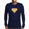 Pizza Mens Long Sleeve T-Shirt