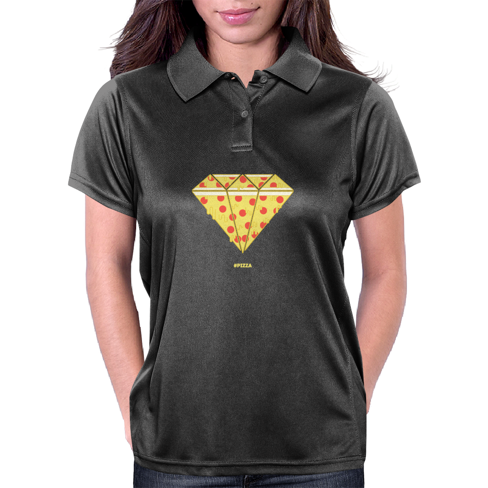 Pizza Womens Polo