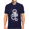 Plague Doctor Gears Mens Polo