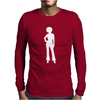 Plain Model Mens Long Sleeve T-Shirt