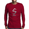 Plain Stev Mens Long Sleeve T-Shirt
