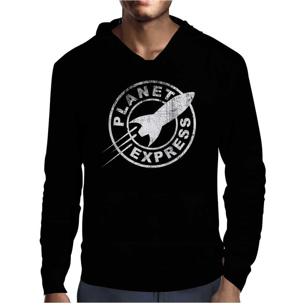 Planet Express Funny Mens Hoodie