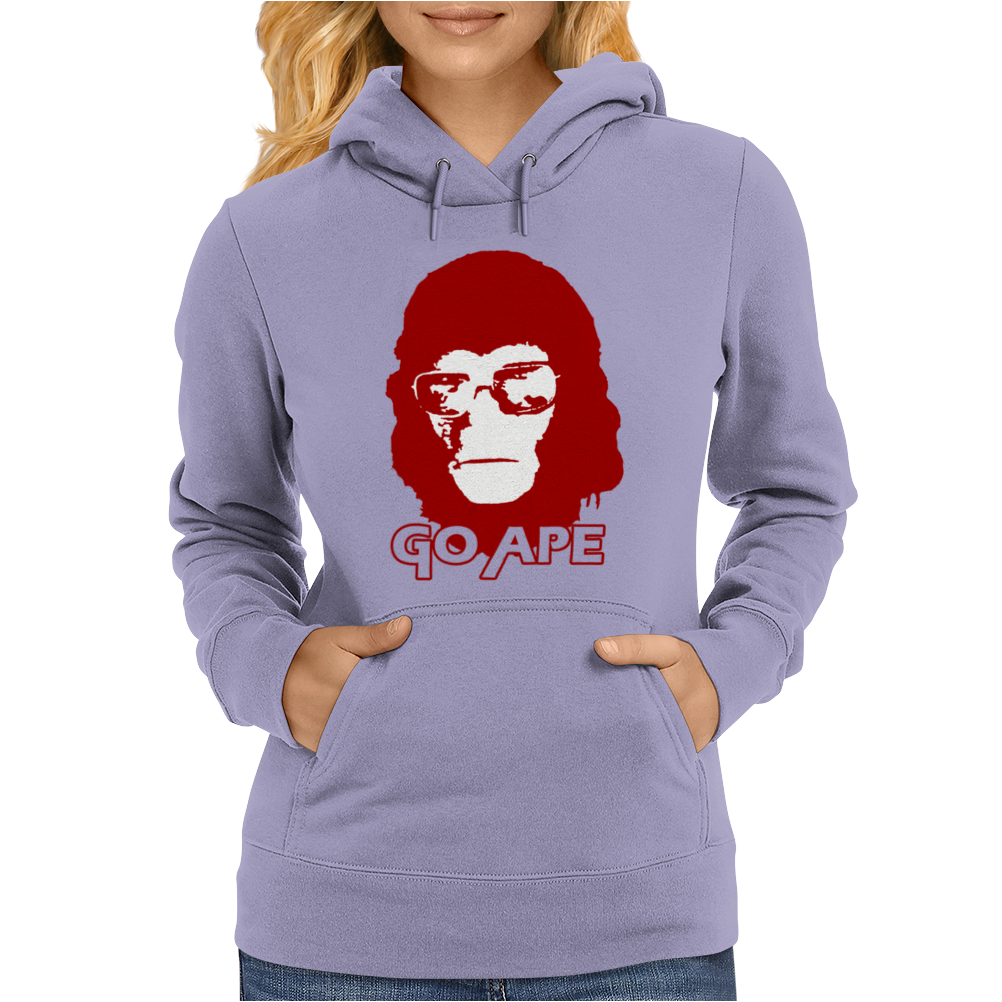 Planet Of The Apes Rise Womens Hoodie