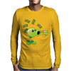 Plant VS Zombies Garden Ware Fare Peashooter Pew Pew Pew Mens Long Sleeve T-Shirt