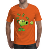 Plant VS Zombies Garden Ware Fare Peashooter Pew Pew Pew Mens T-Shirt