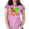 PLASTIC-DEBRIS Womens Fitted T-Shirt