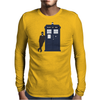 Play It Cool Dr. Who Mens Long Sleeve T-Shirt