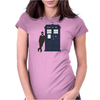Play It Cool Dr. Who Womens Fitted T-Shirt