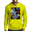 PLAYING  CHESS AT BAR Mens Hoodie
