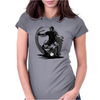 Playing Football Womens Fitted T-Shirt