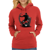 Playing Football Womens Hoodie
