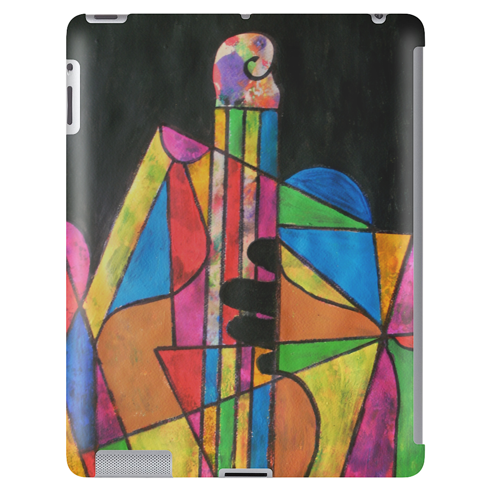 Playing the Bass Tablet (vertical)