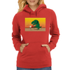 Playing with T-Rex Womens Hoodie
