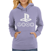 Playstation Vita PS3 PS2 PSone PSP Ultra cool Womens Hoodie