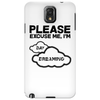 Please excuse me, I'm daydreaming Phone Case