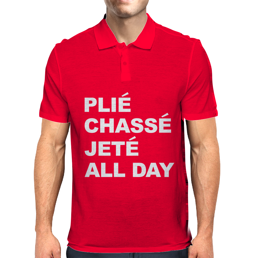 PLIE CHASSE JETE ALL DAY Mens Polo