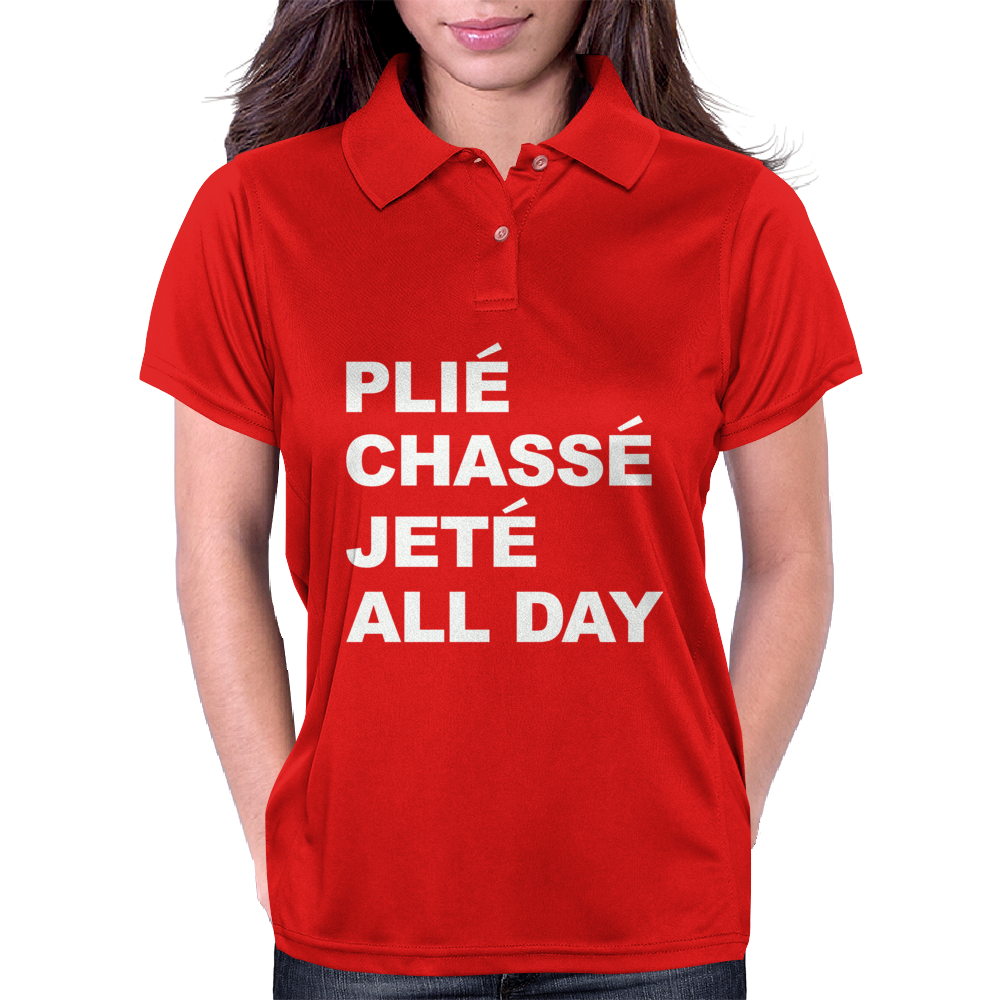 PLIE CHASSE JETE ALL DAY Womens Polo