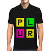 Plur Neon Edc Edm Music House Electro Mens Polo