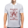 Pocket Monsters - Fire Mens Polo