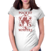 Pocket Monsters - Fire Womens Fitted T-Shirt