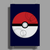 Pokeball Poster Print (Portrait)