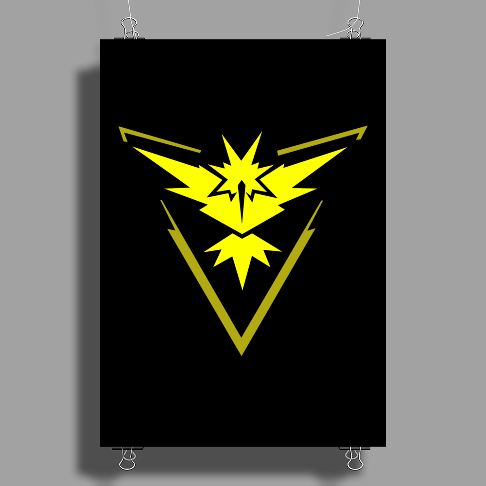 Pokemon Go - Team Instinct Poster Print (Portrait)
