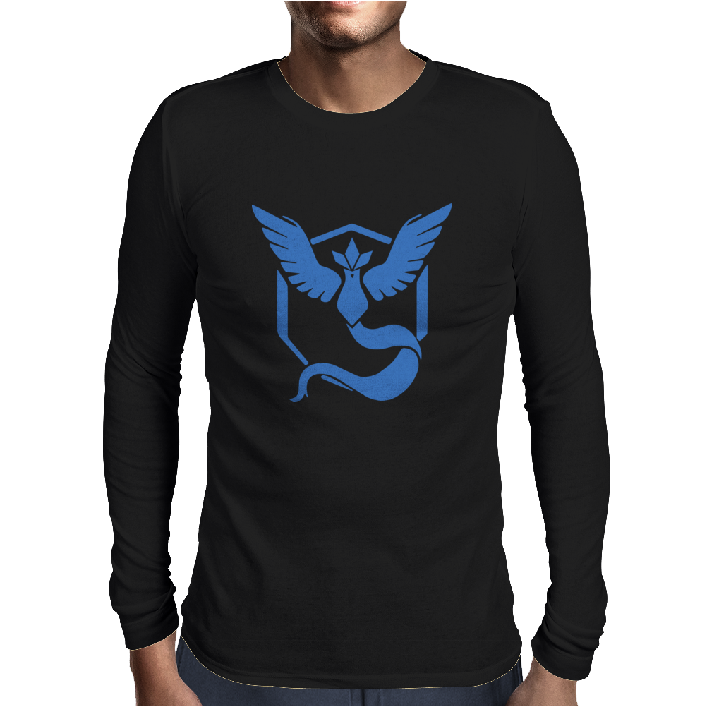 Pokemon Go Team Mystic Mens Long Sleeve T-Shirt